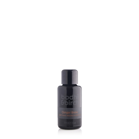 Ginger Brew Deep Tissue Massage & Body Oil
