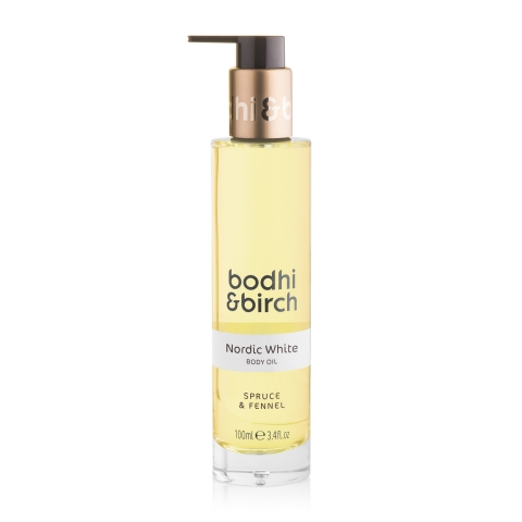 Nordic White Body Oil