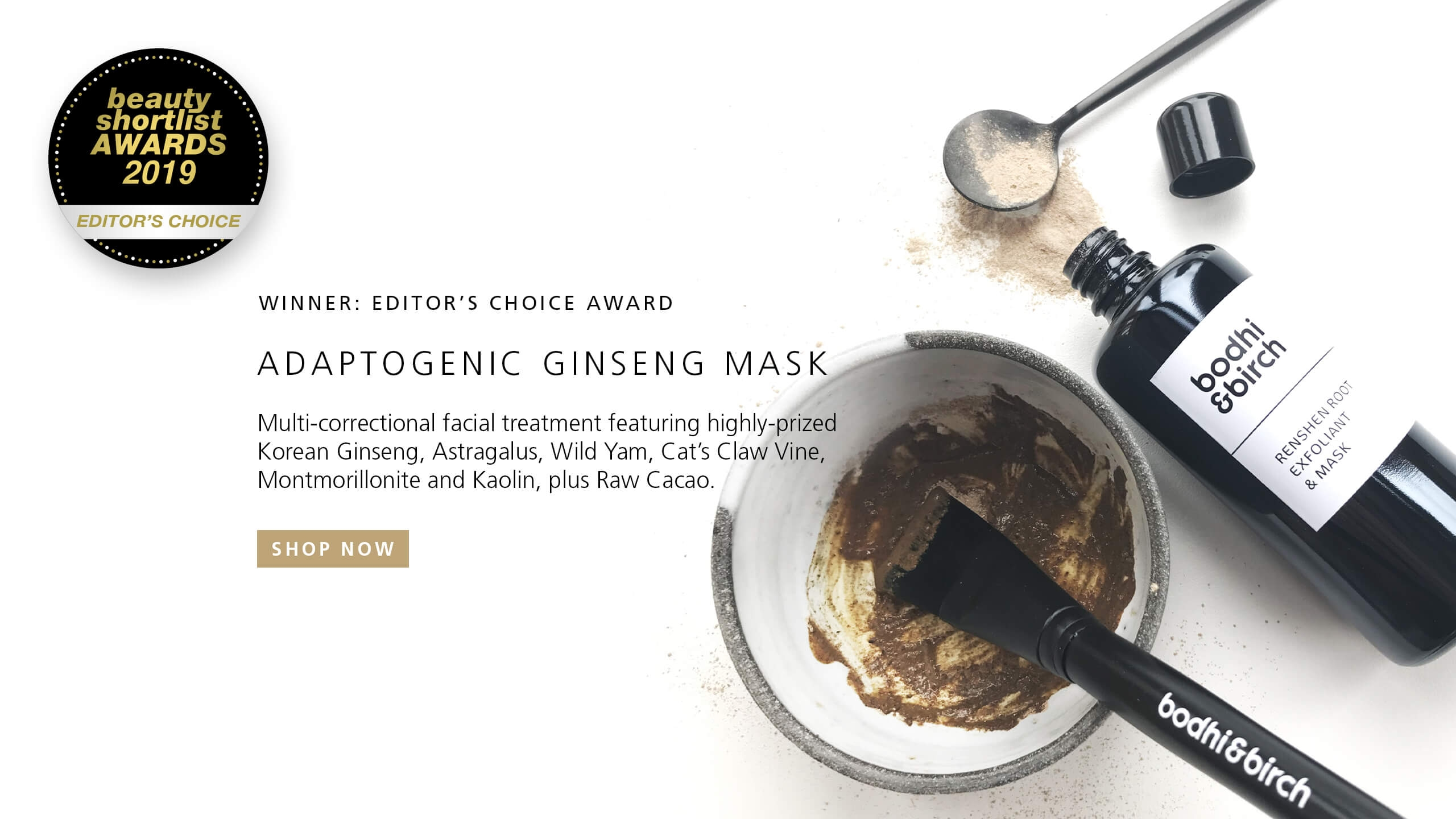 Adaptogenic Ginseng Mask