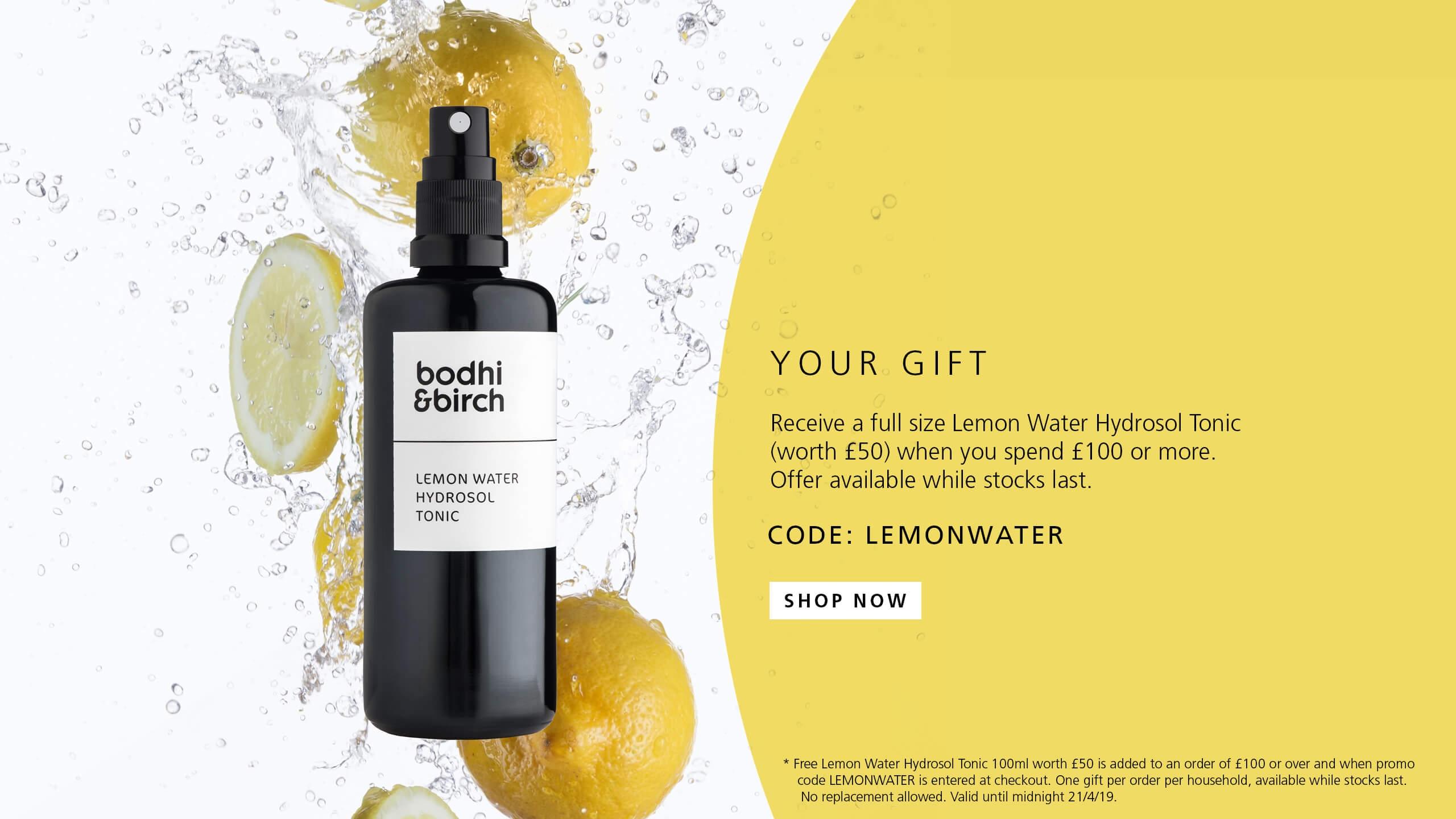 Free Lemon Water