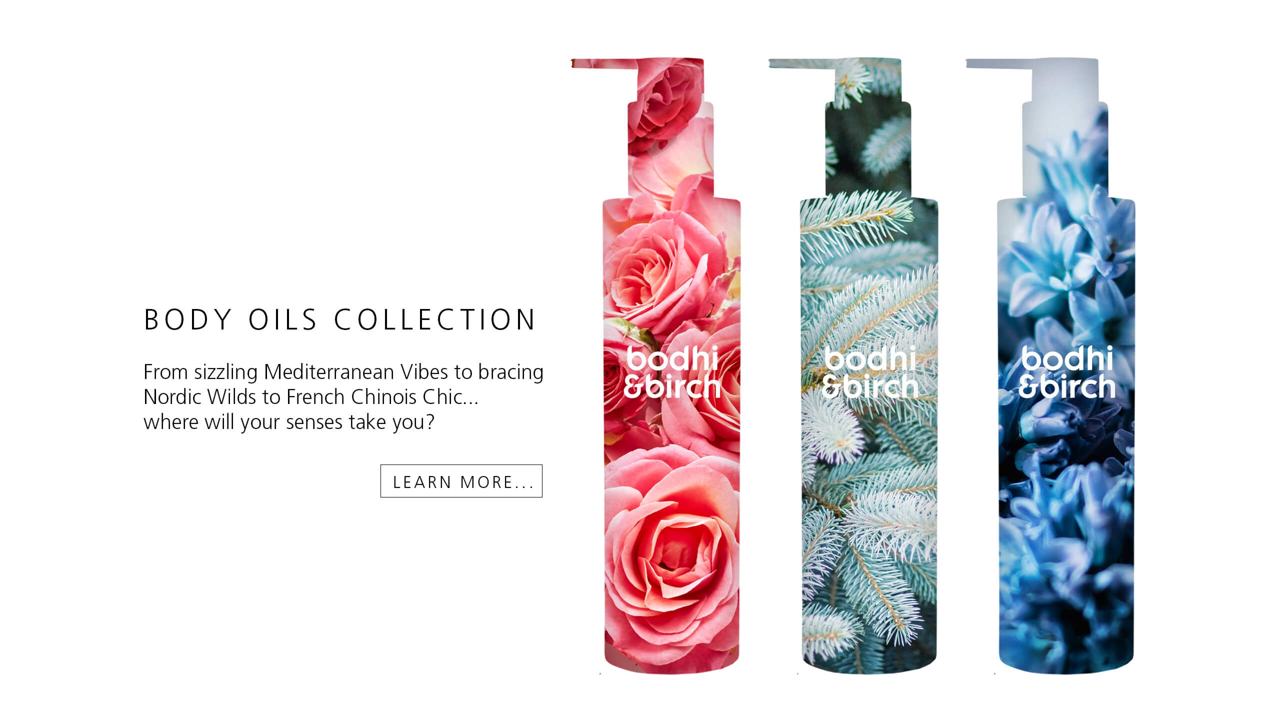 Body Oils Collection